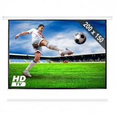 FrontStage Ecran Proiecție tip Roll Up HDTV 200x150 cm