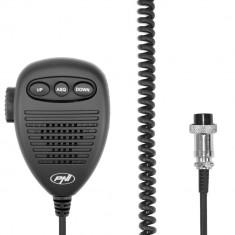 Aproape nou: Microfon cu 6 pini cu parte metalica pentru statii radio PNI Escort HP