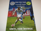 Program meci fotbal CSM POLI IASI - CONCORDIA CHIAJNA (02.12.2016)