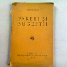 PARERI SI SUGESTII - GERGE MURNU (DEDICATIE)