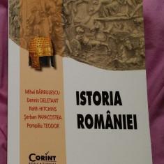 Istoria Romaniei  / Barbulescu Deletant Hitchins Papacostea Teodor 2014
