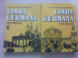 Limba germana , curs practic - EMILIA SAVIN si I. LAZARESCU , volum 1 si 2