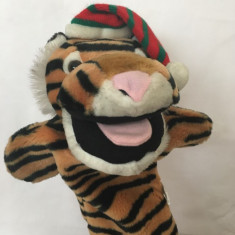 Marioneta teatru de papusi tigru, papusa de mana