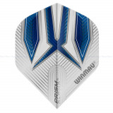 Fluturas darts Winmau ALPHA standard alb/albastru Steve Beaton