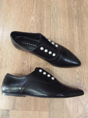LICHIDARE STOC! Pantofi dama noi piele naturala fina superbi comozi si usori 38 foto