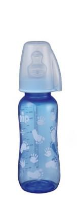 Biberon Trendy Boy PP 250 ml cu tetina silicon pt lapte, nr 1, nip 35036 foto