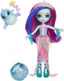 Set Papusa Enchantimals - Dolce Dolphin si figurina Largo, FKV55