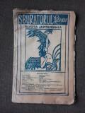 REVISTA SBURATORUL LITERAR NR.1/1921 REVISTA LITERARA, ARTISTICA SI CULTURALA