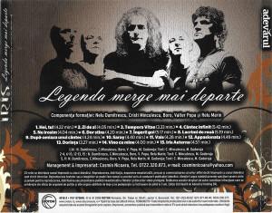 CD Original Iris Legenda merge mai departe Editie speciala