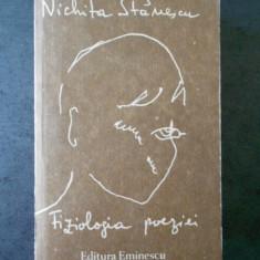 NICHITA STANESCU - FIZIOLOGIA POEZIEI