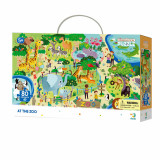 Puzzle - Animalute la ZOO (80 piese)