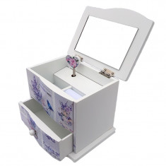 Caseta de bijuterii muzicala, model 1, 594E