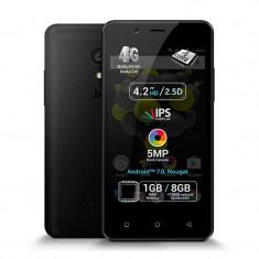 Smartphone Allview P4 Quad 8GB 1GB RAM Dual Sim 4G Black