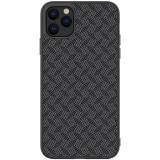 Cumpara ieftin Husa Hard Iphone 11 Pro Max Negru Fiber Nillkin