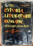 Istoria literaturii române, Al. Piru