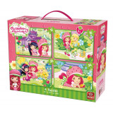 Puzzle 12, 16, 20, 24 piese Strawberry