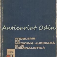 Probleme De Medicina Judiciara Si De Criminalistica - M. Terbanecea, D. Banciu