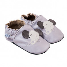 Papucei piele Grey Mouse
