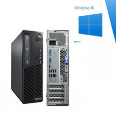 PC Refurbished Lenovo M91p sff, Quad Core i5-2400, Win 10 Home