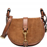 Jamie Medium Suede Crossbody