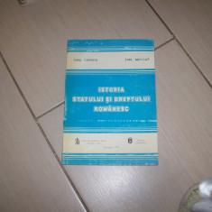 ISTORIA STATULUI SI DREPTULUI ROMANESC EMIL CERNEA EMIL MOLCUT