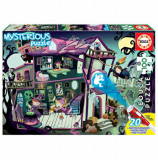Cumpara ieftin Puzzle Mysterious Puzzle Ghost House, 100 piese, Educa