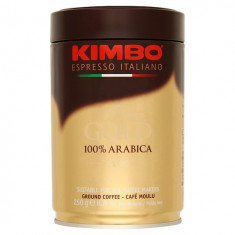 Kimbo Aroma Gold 100% Arabica Cafea Macinata 250g cutie metal