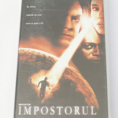 Caseta video VHS originala film tradus Ro - Impostorul