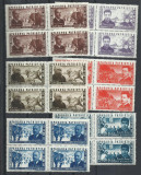TSV$ - RO 1945 LP 168 APARAREA PATRIOTICA MNH/** LUX  BLOC DE 4, Nestampilat