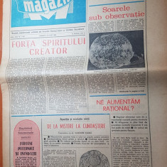 Magazin 26 iulie 1980-nadia comaneci  la olimpiada de la moscova,adrian paunescu