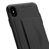 Husa de piele cu suport PC, model mulat, pentru iPhone X/8P/8/7P/7/6P/6 for Samsung s8/s8p/Note8