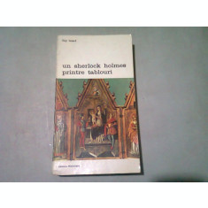 UN SHERLOCK HOLMES PRINTRE TABLOURI - GUY ISNARD