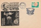 1969 Grigore Antipa 25 ani de la moarte, plic stampila speciala Botosani