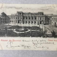 CP Palatul Regal - București - 1899