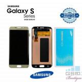 Display Cu Touchscreen Samsung Galaxy S6 Edge Plus G928 Original Auriu