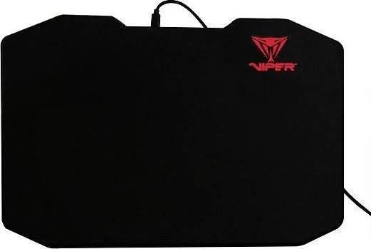 Mousepad Gaming Patriot Viper LED Black