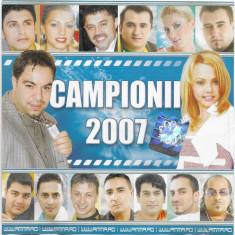 CD  Campionii 2007, manele
