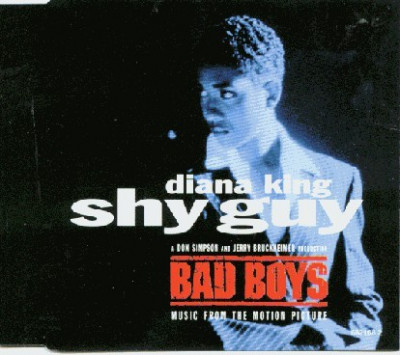 CD Diana King ‎– Shy Guy, original foto
