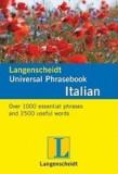 Langenscheidt Universal-Phrasebook Italian