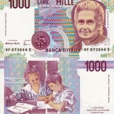 ITALIA 1.000 lire 1990 UNC!!!