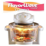 Cuptor electric FlavorWave Turbo Oven cu convectie si halogen, As Seen On TV