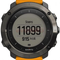 Ceas activity tracker outdoor Suunto Traverse Amber SS021844000 (Portocaliu)