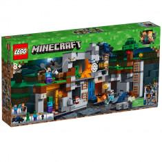 NOU/Sigilat/Original - LEGO® Minecraft™ Aventurile din Bedrock 21147