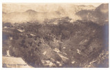 4778 - ZARNESTI, Brasov, panorama, Romania - old postcard, real PHOTO - unused