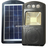Corp Iluminat LED 30W Solar Boxa Senzori Suport Telecomanda CL180
