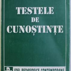 TESTELE DE CUNOSTINTE de ION HOLBAN , 1995