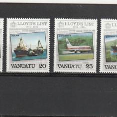Transporturi ,navigatie ,catastrofe ,Lloyds ,Vanuatu, Nestampilat