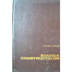 Statica Constructiilor - Al. Gheorghiu ,526827