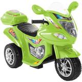 Motocicletă electrică Lil' Rider FX 3-Wheel,Verde