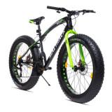 Cumpara ieftin Bicicleta Fat Bike roti 26 inch, cadru otel 17'', 21 viteze, frane disc, MalTrack Jagura